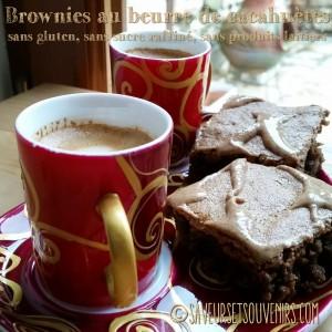Ces brownies au beurre de cacahuète sont moelleux à souhait avec un goût subtil d'arachide dérivant vers le caramel