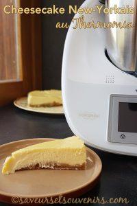 Le Cheesecake new-yorkais est facile à faire au Thermomix et absolument délicieux !