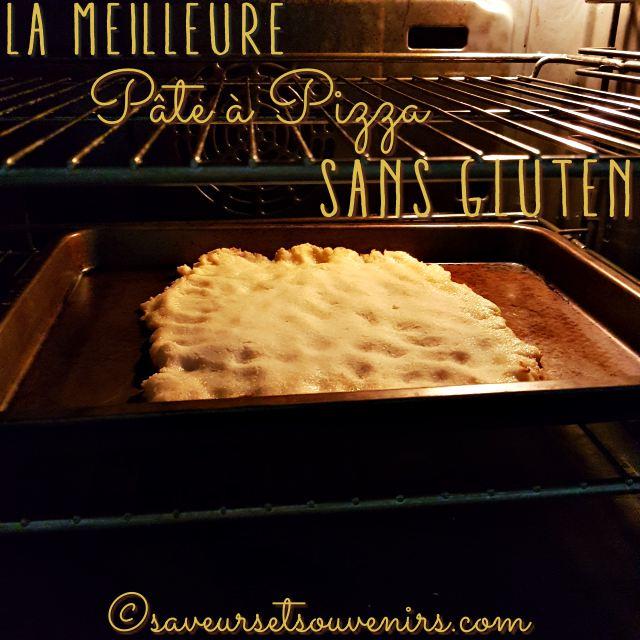 Regardez comme cette pâte à pizza sans gluten lève au four !