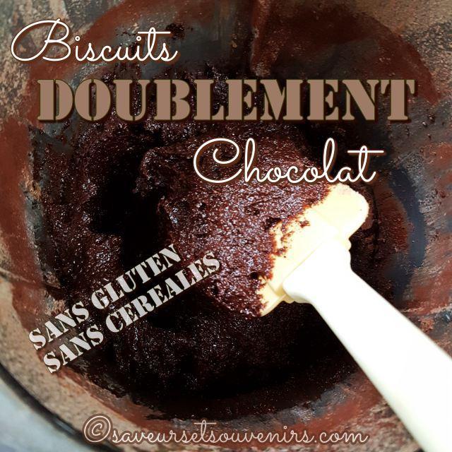 L'appareil de mes biscuits doublement chocolat est plus liquide qu'une pâte à cookies traditionnelle, pour assurer un moelleux parfait