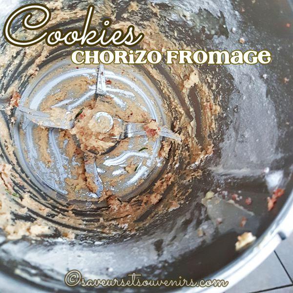 Cookies sal s chorizo fromage romarin saveurs et souvenirs recette thermomix faire pour l - Mon thermomix ne pese plus ...
